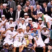 Fünfter Meistertitel für San Antonio Spurs in NBA (Foto)