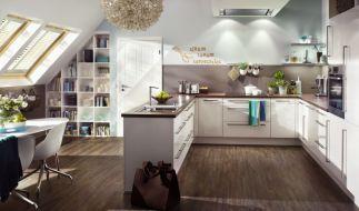 Bei einer guten Planung lässt sich das Obergeschoss auch zu einer gemütlichen Küche umbauen. (Foto)