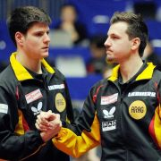 Ovtcharov gegen Boll in Chinas Tischtennis-Superliga (Foto)