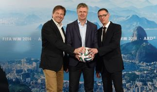 ARD-Kommentatoren-Trio: Gerd Gottlob, Tom Bartels und Steffen Simon. (Foto)