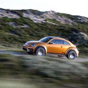 VW Beetle Dune: Ab 2016 krabbelt der Käfer über Stock und Stein (Foto)
