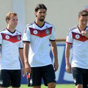 Mit Götze und Özil gegen Portugal (Foto)