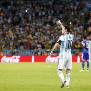 Messi kritisch nach erstem Geniestreich (Foto)