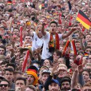 Grenzenloser Jubel - Hunderttausende feiern Nationalelf (Foto)
