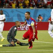 Erfolgreiches WM-Comeback von Klinsmann - 2: 1 gegen Ghana (Foto)