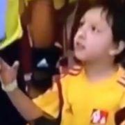 Hier bricht Lionel Messi ein Kinderherz (Foto)