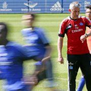Trainingsauftakt: HSV Erster, Bayern Letzter (Foto)