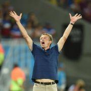 Sommermärchen-Gefühle holen US-Trainer Klinsmann ein (Foto)