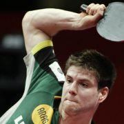 Ovtcharov schlägt Tischtennis-Olympiasieger Jike (Foto)
