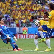 Erster Dämpfer für Brasilien: Ochoa rettet Mexiko 0:0 (Foto)