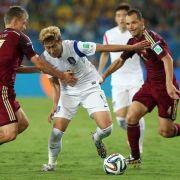 Son: Bei einer WM kann man auch mit Krämpfen kämpfen (Foto)