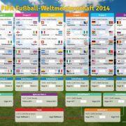 Die WM-Vorrunde in der TV-Übersicht (Foto)