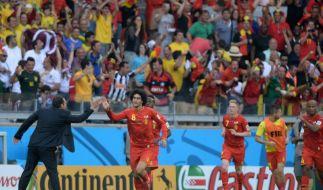 Wilmots: Belgiens Matchwinner auf der Bank (Foto)