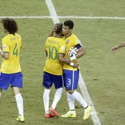 Scolari und Pelé muntern Brasilien nach 0:0 auf (Foto)