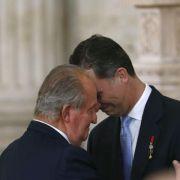 Spaniens König Juan Carlos unterzeichnet Abdankung (Foto)