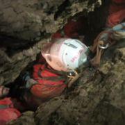 Rettung von Höhlenforscher kurz vor dem Abschluss (Foto)
