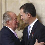 Felipe ist neuer König Spaniens (Foto)