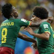 Finke erlebt Zerfall von Kameruns WM-Team (Foto)