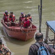 Noch 25 Personen nach Bootsunglück vor Malaysia vermisst (Foto)