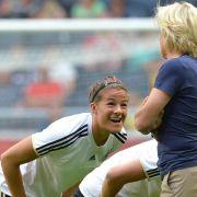 DFB-Frauen mit Testspiel-Sieg in Kanada (Foto)