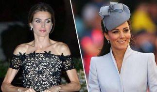 Letizia macht es vor, Kate nach: Immer dünner und dünner. (Foto)