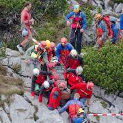 Verunglückter Höhlenforscher gerettet! (Foto)