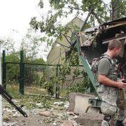 Putin und Poroschenko erörtern Waffenruhe in der Ostukraine (Foto)