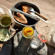 Curry-Hähnchenschenkel mit Joghurt (Foto)