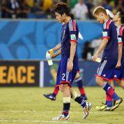 Japan auf Formsuche:Alles oder nichts gegen Kolumbien (Foto)