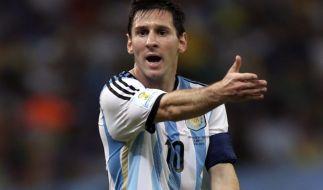 Ist Lionel Messi für Argentinien ein Hemmschuh? (Foto)