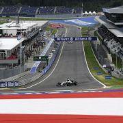 Mercedes dominiert inÖsterreich:Hamilton vor Rosberg (Foto)
