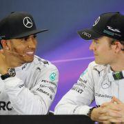 Hamilton lobt Rivale Rosberg - Dennoch keine Freunde (Foto)
