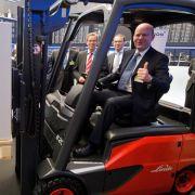 Gabelstapler-Hersteller Kion schafft Jobs in der Entwicklung (Foto)