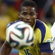Ecuador-Stürmer Valencia verlängert bei Man-United (Foto)