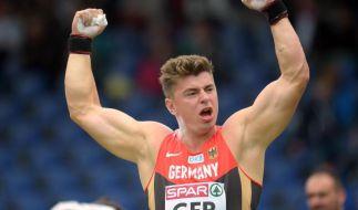 Weltmeister Storl siegte bei Team-EM mit 21,20 Meter (Foto)