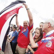 Ganz Costa Rica feiert WM-Coup (Foto)