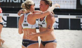 Beach-Duo Borger/Büthe spielt um Platz drei (Foto)