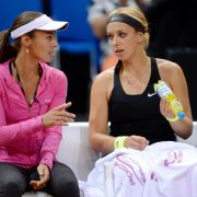 Vor Wimbledon: Lisicki trennt sich von Trainerin Hingis (Foto)