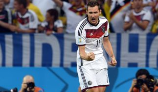 Oldie-Joker: Miroslav Klose. (Foto)