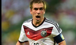 Noch nicht seine WM: DFB-Kapitän Philipp Lahm. (Foto)