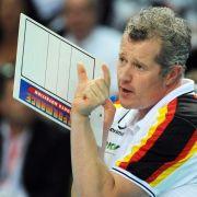 Zwei Pleiten: Deutschen Volleyballern vergeht der Spaß (Foto)