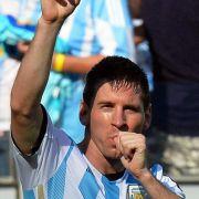 «Danke Gott»: Argentinien feiert Messi (Foto)