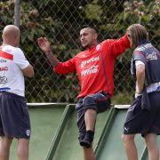 Ohne fitten Vidal gegen Holland? - Gelb-Sperre droht (Foto)