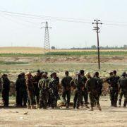 Isis nimmt weitere Städte im Irak ein (Foto)