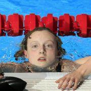 US-Teenie Katie Ledecky schwimmt erneut Weltrekord (Foto)