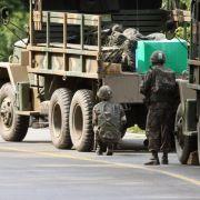Südkoreanischer Soldat nach Amoklauf gefasst (Foto)