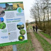 Naturschutzprojekt an der einstigen Grenze: Grünes Band wird 25 (Foto)