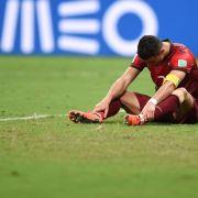 «Adeus Portugal»:Ratlosigkeit bei Ronaldo und Co. (Foto)