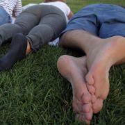 Füßen jede Stunde fünf Minuten Pause gönnen (Foto)