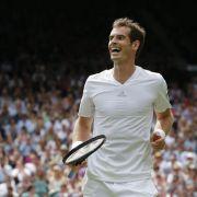 Murray weiter: Starker Wimbledon-Auftakt mit Mauresmo (Foto)